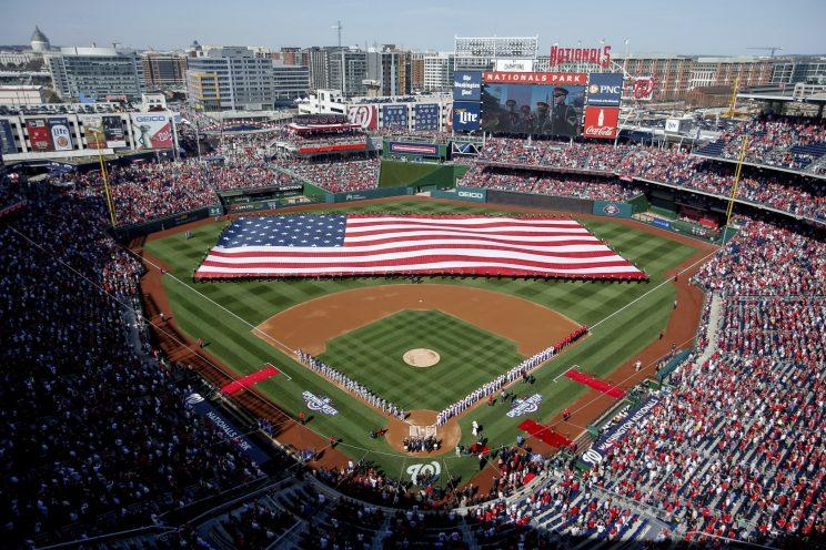 The Congressional Baseball Game has been held at Nationals Park since it opened. (AP Photo)