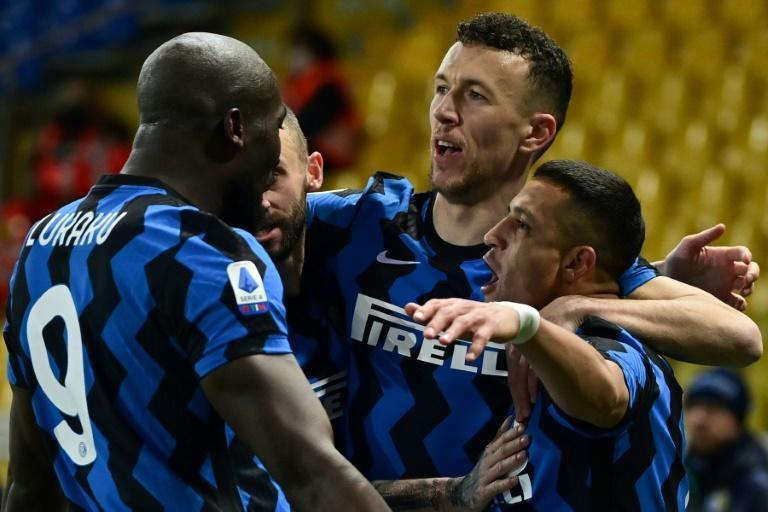 Inter Milan are six-points clear at the top of Serie A.
