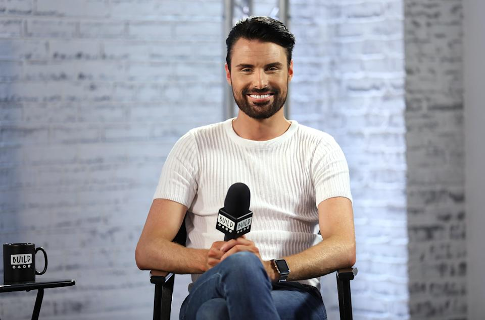 Rylan Clark-Neal in discussion about his new ITV gameshow 'Babushka' at the Build LDN event on April 19, 2017. (Photo by Tim P. Whitby/Tim P. WhitbyGetty Images)
