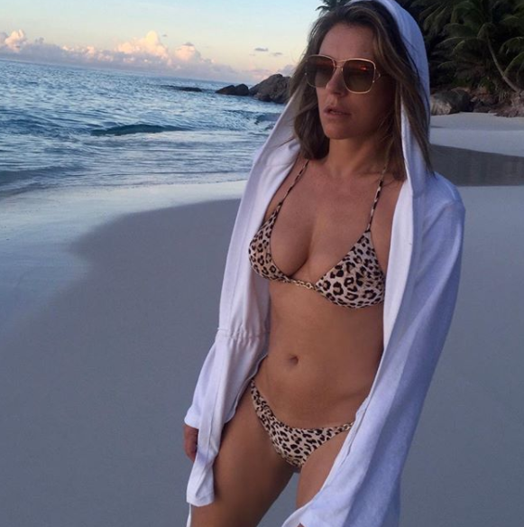 It's hard to believe, but Liz is 52 - and in the best shape of her life. Photo: Instagram/elizabethhurley1