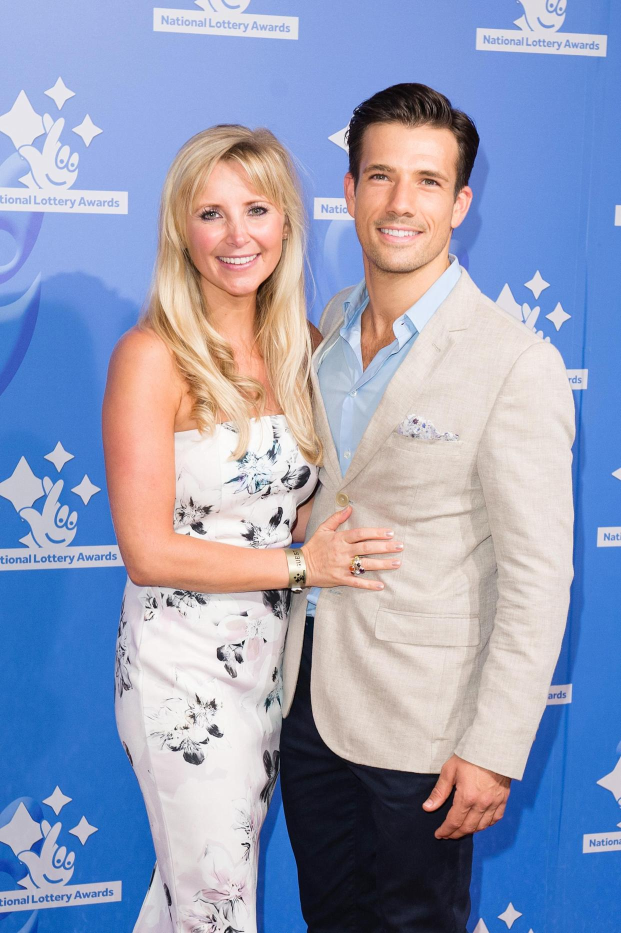 Carley Stenson and Danny Mac announced the pregnancy in March. (Photo by Jeff Spicer/Getty Images)