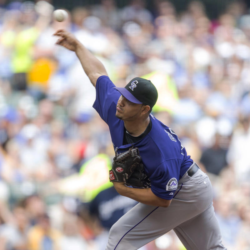 Rockies place RHP Jhoulys Chacin on DL