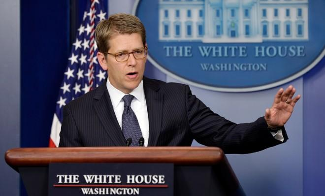 White House Press Secretary Jay Carney confirmed that a letter sent to President Obama tested positive for the poison ricin.