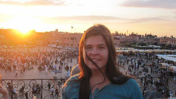 PHOTO: Kayla Mueller seen on her travels in this undated photo. (Mueller Family)