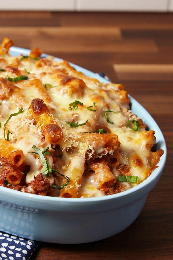 """<p><span>You deserve nothing less than the ultimate.</span></p><p><span>Get the recipe from </span><a href=""""https://www.delish.com/cooking/recipe-ideas/recipes/a50840/ultimate-baked-ziti-recipe/"""" rel=""""nofollow noopener"""" target=""""_blank"""" data-ylk=""""slk:Delish"""" class=""""link rapid-noclick-resp"""">Delish</a><span>.</span><br></p>"""