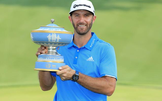 <span>Dustin Johnson's win at the WGC World Matchplay was his third in three starts</span> <span>Credit: Getty Images </span>