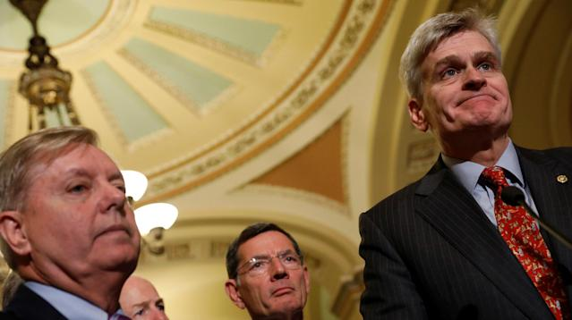 Republicans in the U.S. Senate have been unable to garner enough support within their own conference for their latest bill to repeal Obamacare.