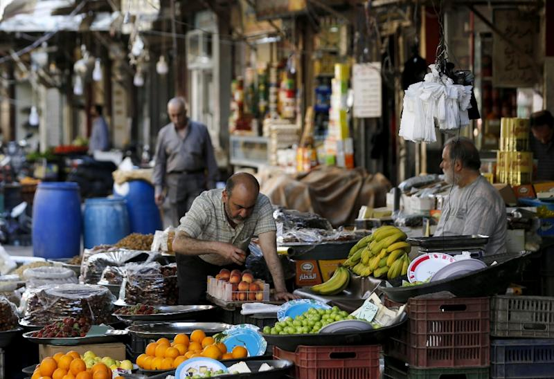 Business is slow this Ramadan in the markets of the Syrian capital Damascus (AFP Photo/Louai Beshara)