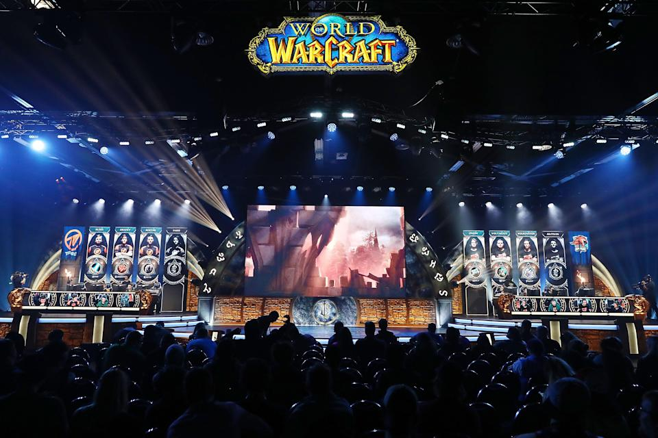 Staff at the company behind the World of Warcraft franchise will walkout in protest at harassment allegations (Getty Images)