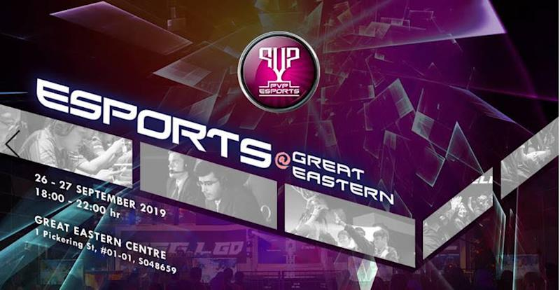PVP Esports @ Great Eastern (Singapore)