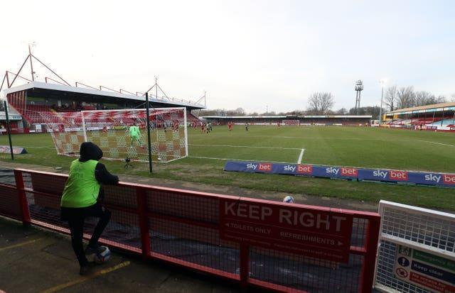 Saturday afternoon games were streamed live last season, when crowds were either severely limited or barred altogether