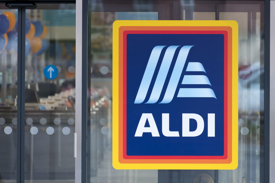 No self-service checkouts for Aldi shoppers. Image: Getty