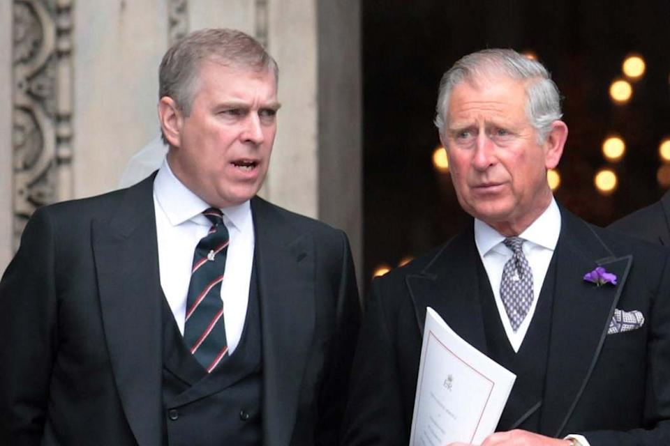 Prince Andrew and Prince Charles at St Paul's Cathedral (Getty Images)