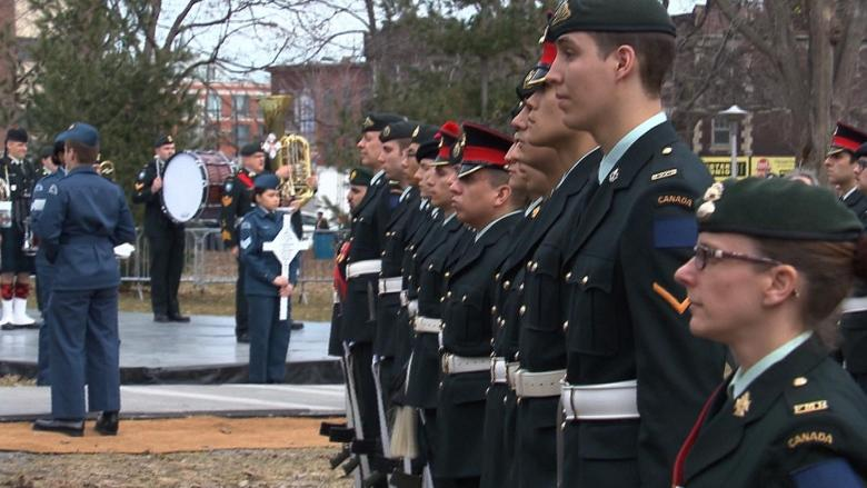Vimy memorial in NDG park inaugurated on 100th anniversary of battle