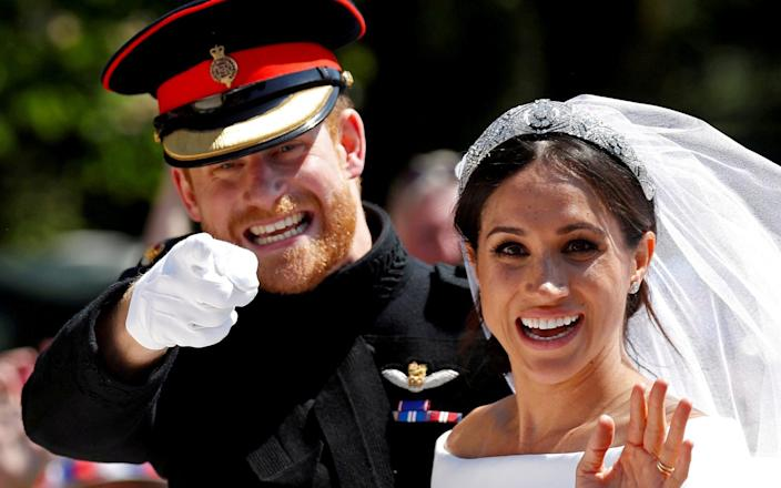 Prince Harry marries US actress Meghan Markle in Windsor. - Reuters