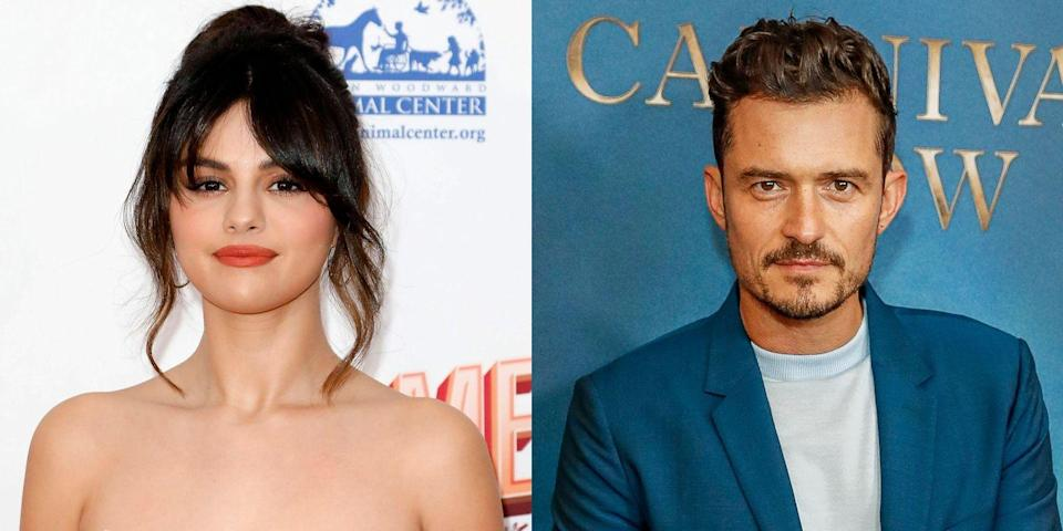 """<p>Selena Gomez and Orlando Bloom <a href=""""https://www.tmz.com/2014/04/28/orlando-bloom-selena-gomez-justin-bieber-miranda-kerr-photo/"""" rel=""""nofollow noopener"""" target=""""_blank"""" data-ylk=""""slk:first sparked dating rumors in 2014."""" class=""""link rapid-noclick-resp"""">first sparked dating rumors in 2014. </a>Immediately, though, fans were skeptical, especially since both of their recent exes, Justin Bieber and Miranda Kerr, were also rumored to be seeing each other around the time. It's still unclear, though, what was actually going on between Selena and Orlando. </p>"""