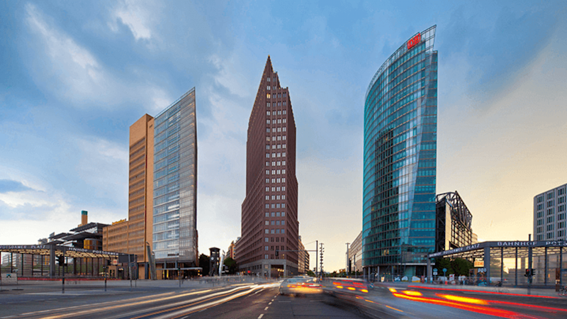 Brookfield-owned Potsdamer Platz in Berlin, Germany