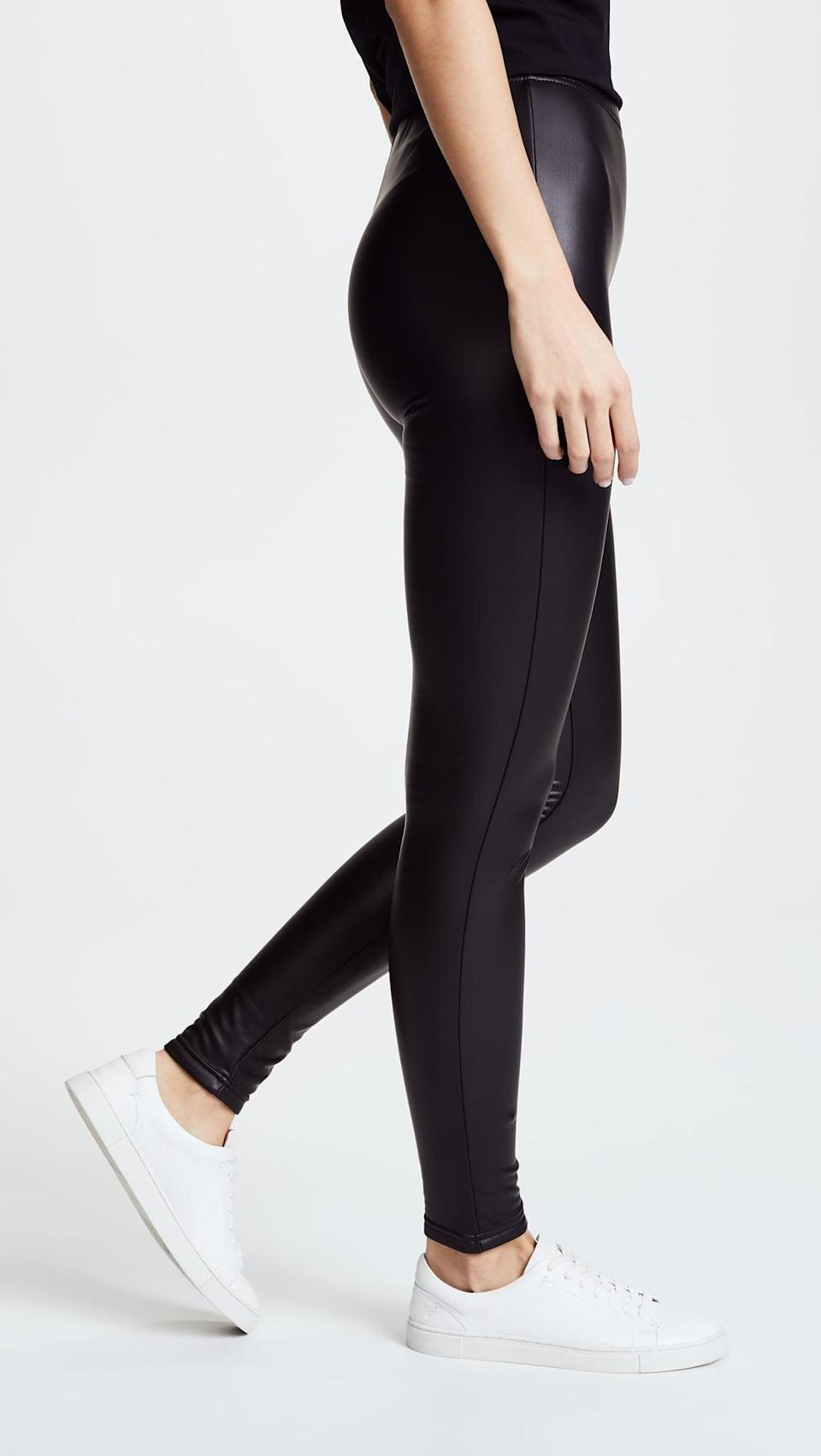 <p><span>Plush Fleece-Lined Liquid Leggings</span> ($84) would look chic as hell paired with your favorite chunky knit and a pair of booties.</p>