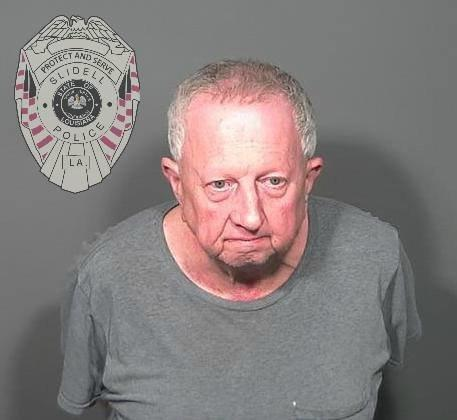 Michael Neu in a police booking photo.