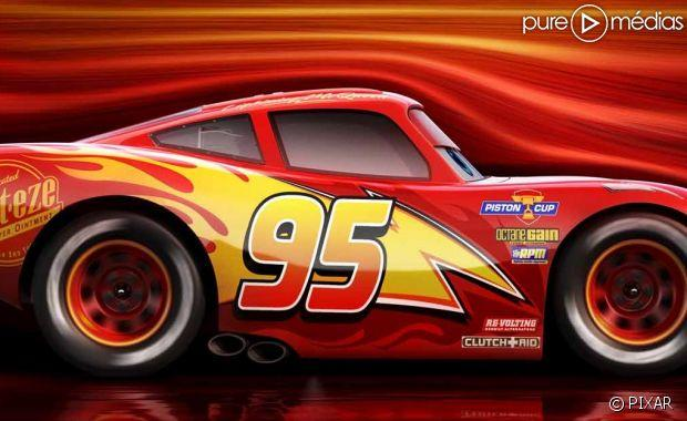 cars 3 flash mcqueen bout de course dans la premi re bande annonce. Black Bedroom Furniture Sets. Home Design Ideas