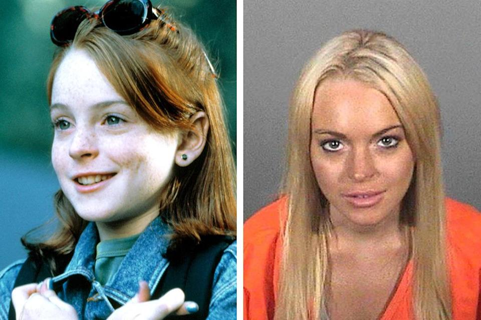 <p>The very definition of a celebrity car crash, Lohan made her name as the freckly star of 'The Parent Trap' and 'Freaky Friday' before succumbing to the dark forces of Hollywood.</p><p>She has been to rehab multiple times, as well as being arrested for driving under the influence, cocaine possession and probation violation, for which she served 14 days in jail.</p><p>Having finally completed her community service, she is now living in London in a bid to stay clean, the first time in nearly eight years she hasn't been burdened with legal issues.</p>