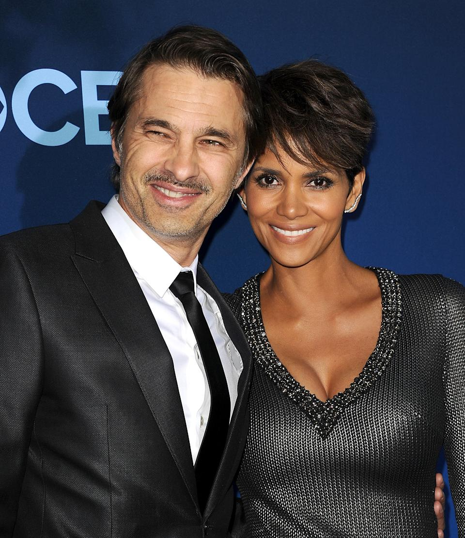 Halle Berry pictured with ex Olivier Martinez in 2014. (Photo by Jason LaVeris/FilmMagic)
