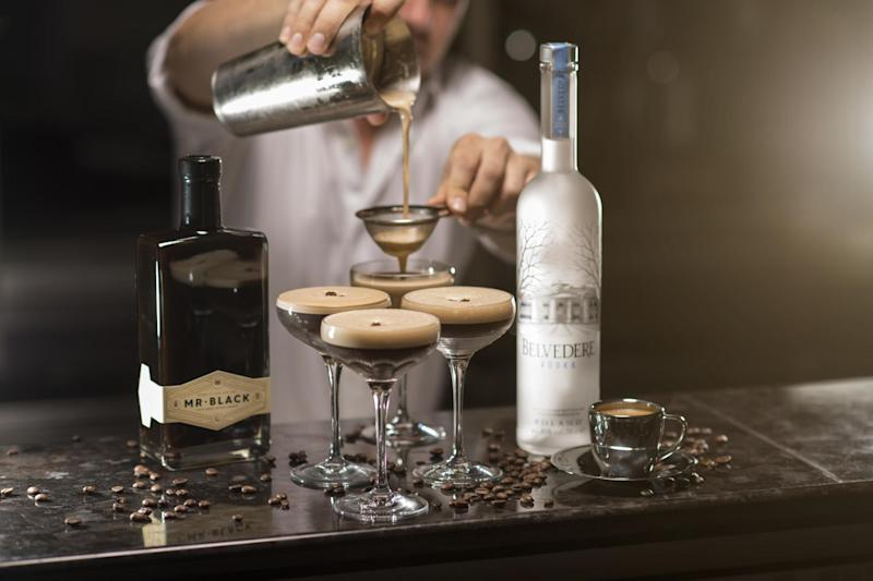 Festive martinis: The pop-up opens this Saturday