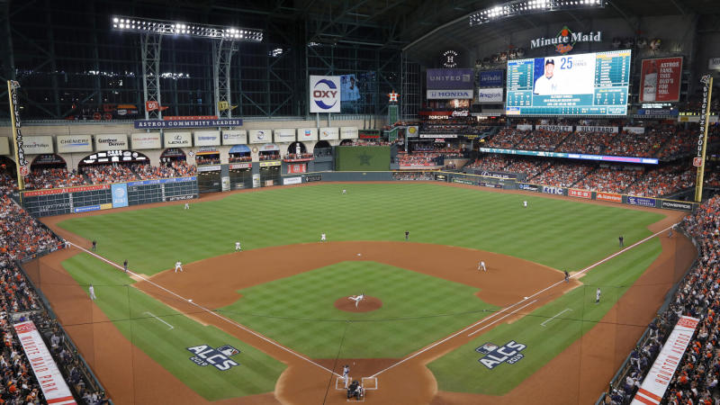 GM: Astros would hold 'spring training' at home park