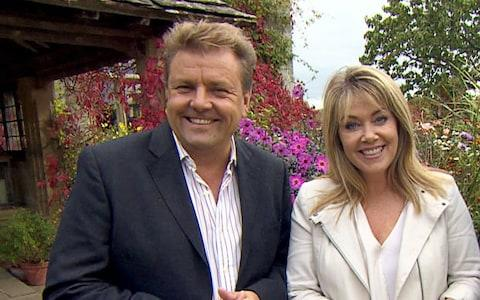 Martin Roberts with co-presenter Lucy Alexander