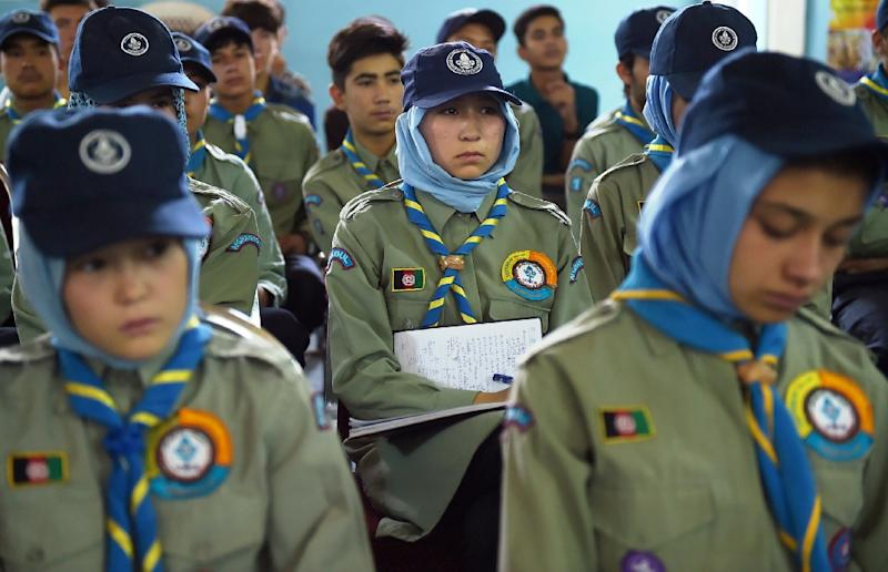 Scouting has a long and proud history in Afghanistan, where it was first initiated in 1931 (AFP Photo/Shah Marai)