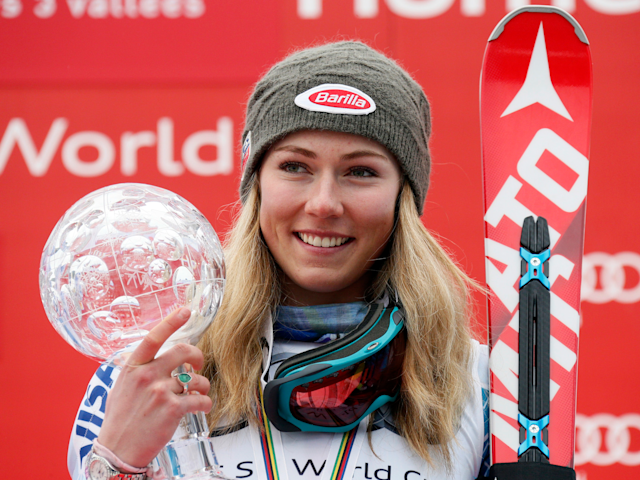 <p><strong>Country:</strong> United States<br><strong>Net Worth:</strong> $2 million<br>Mikaela Shiffrin is the top slalom skier in the world and has a net worth of $2 million. In 2014 she competed as the youngest gold medalist in slalom skiing, and she's endorsed by Red Bull, among others.<br>Shiffrin won the gold medal in women's slalom at the 2018 Pyeongchang Winter Olympics. (Business Insider) </p>
