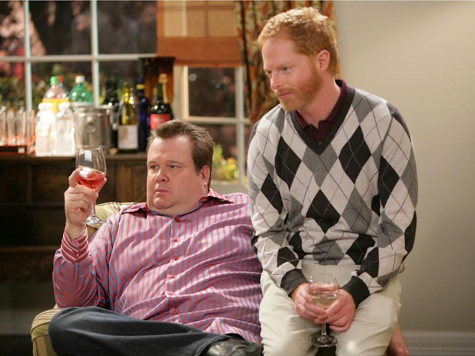"Eric Stonestreet and Jesse Tyler Ferguson played a couple on ""Modern Family."""