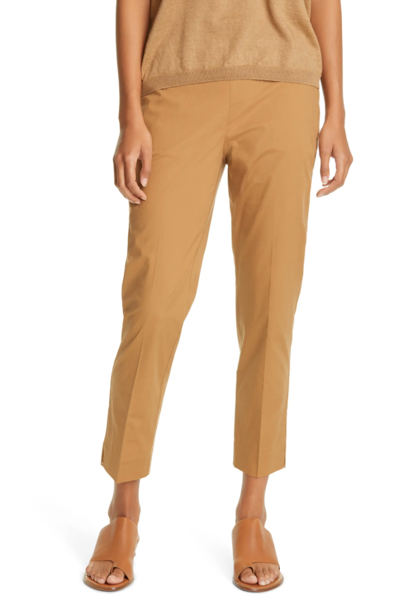 Eileen Fisher High Waist Tapered Ankle Pants. Image via Nordstrom.