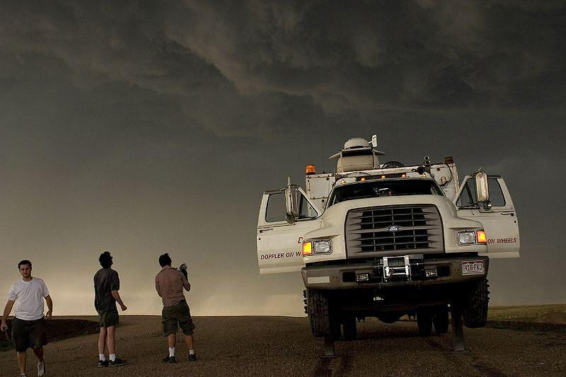 A scene from <em>Storm Chasers</em>