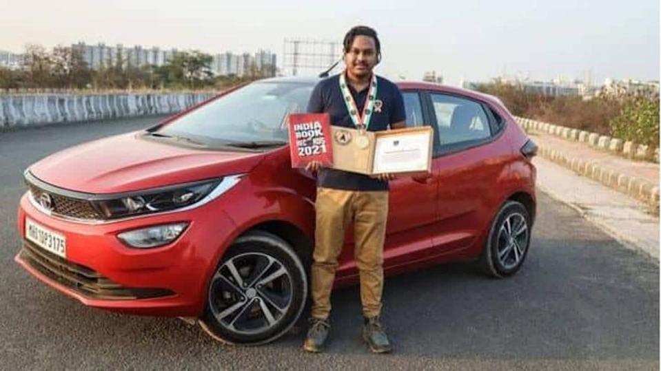 Tata Altroz covers a record 1,603km distance in 24 hours