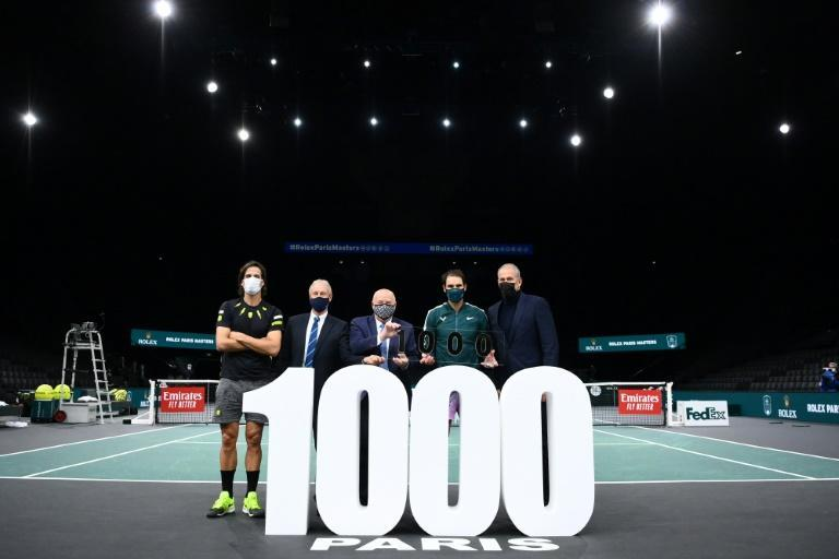 Nadal celebrates his 1,000th win
