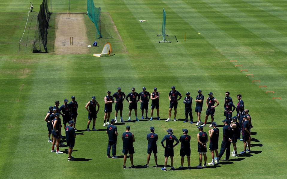 England players training - GETTY IMAGES