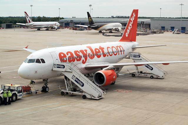 file image of EasyJet plane