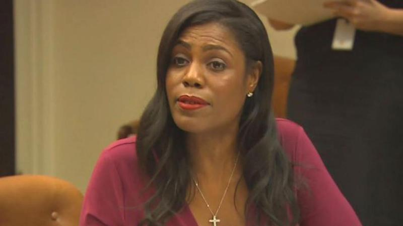 Omarosa says she secretly taped her firing, plays audio