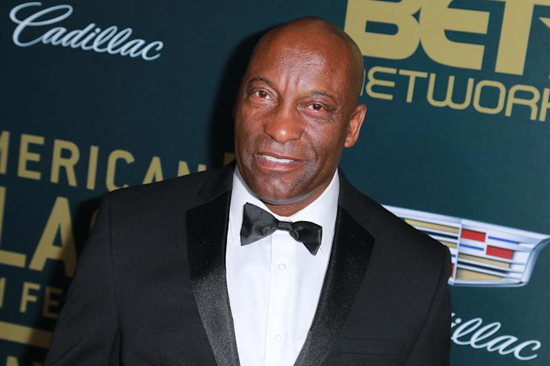 "John Singleton, pictured last year, has suffered a ""major stroke."" (Photo: Getty Images)"