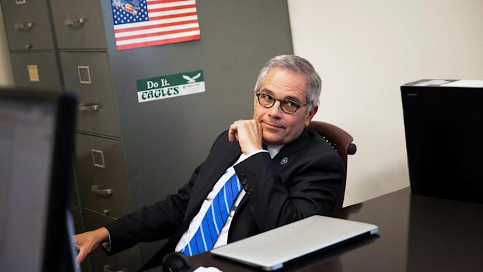 Larry Krasner in Philly D.A.