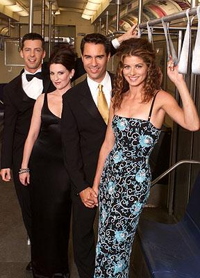 Sean Hayes, Megan Mullally, Eric McCormack and Debra Messing on NBC's Will and Grace