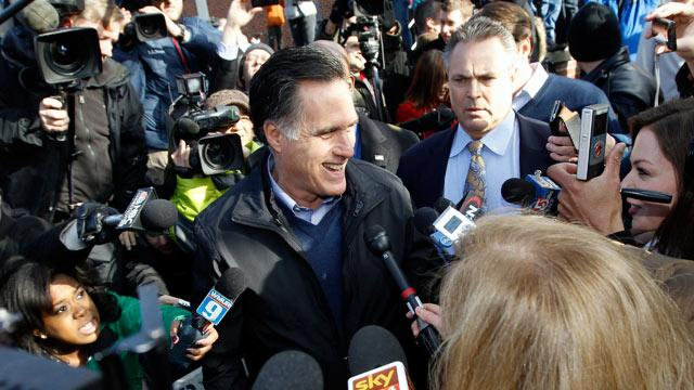'Mission Impossible:' Mitt Romney Spends Primary Day at the Movies