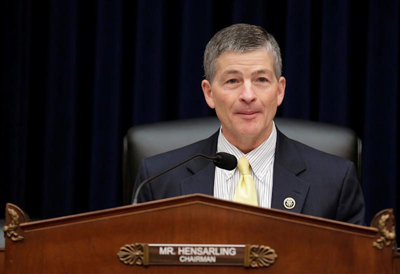 Rep. Jeb Hensarling (R-Texas), seen here in 2016, announced Tuesday that he will not seek re-election next year. (Joshua Roberts / Reuters)