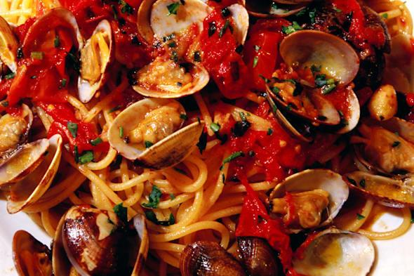 seafood pasta italy