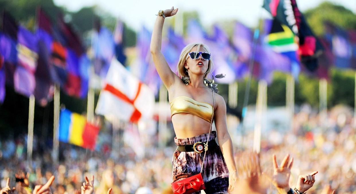 Equinox, the one-day Glastonbury festival, will only be able to hold a quarter of the usual 200,000 attendees (Getty)