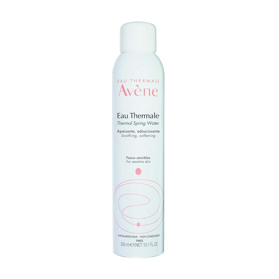 """<h2>Avène<br></h2><br>30% off select products<br><br><strong>Eau Thermale Avène</strong> Thermal Spring Water, Soothing Calming Facial Mist, $, available at <a href=""""https://amzn.to/35IT6HU"""" rel=""""nofollow noopener"""" target=""""_blank"""" data-ylk=""""slk:Amazon"""" class=""""link rapid-noclick-resp"""">Amazon</a>"""