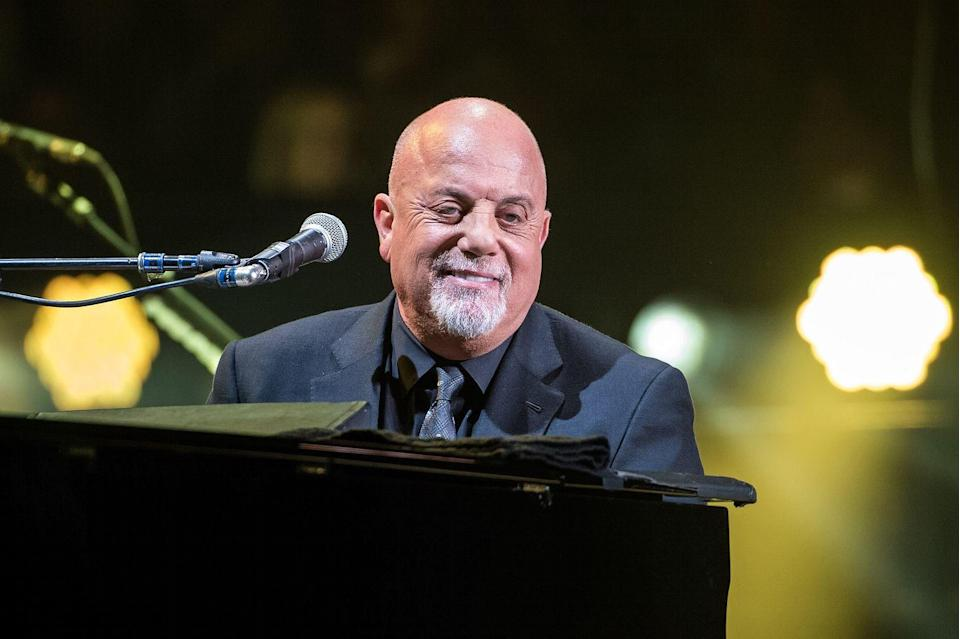 <p>While he's still performing his classics on stage, he's doing it sans hair. He has, however, acquired some new facial hair. </p>