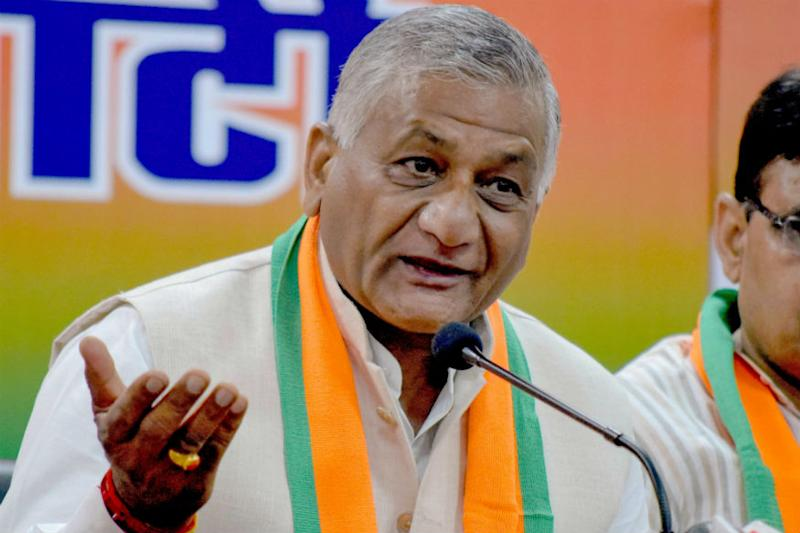 Former Army Chief VK Singh To Serve as MoS in Ministry of Road Transport and Highways