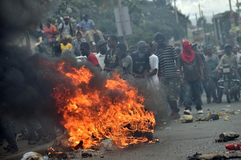 Image result for haiti election 2016 protests